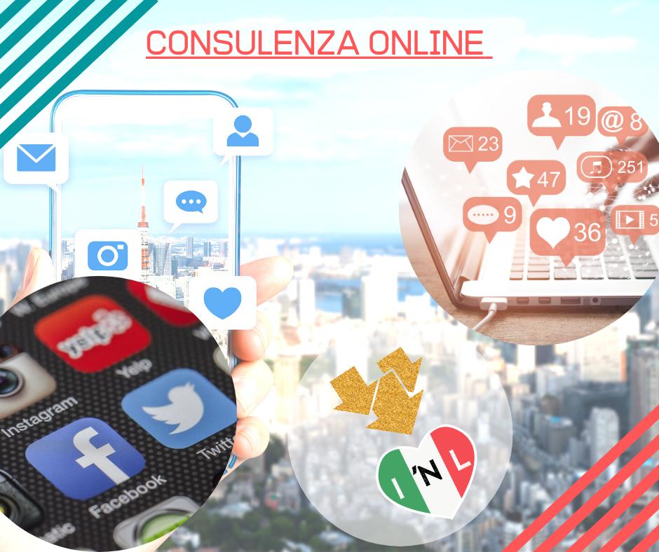 creare profili social
